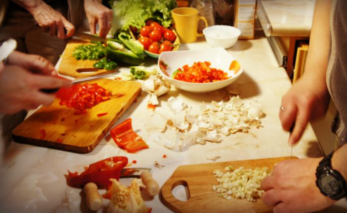 Talleres cocina vegetariana la tetera verde cocina for Cocina vegetariana